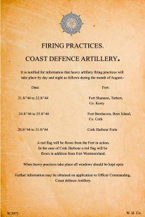 Poster Firing practice